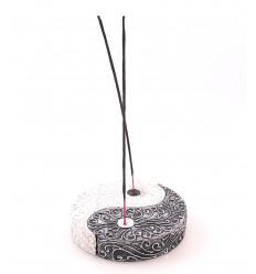 Incenso titolari cinese yin yang decorativi bastoni di legno. Acquisto.
