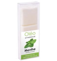 """Cire végétale parfumée à l'huile essentielle de menthe """"Drake Oléo""""."""
