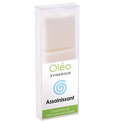 Cire végétale parfumée aux huiles essentielles pour purifier l'air.