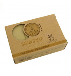 Alep soap with orange blossom. Alep soap natural fragrant.