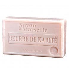 Savon de Marseille enrichi au beurre de karité, très hydratant.