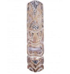 Tiki mask original. Wall decor ethnic polynesia tahiti.