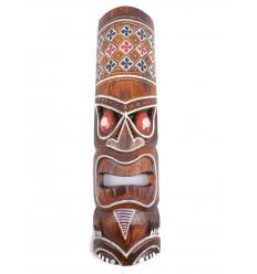 L'acquisto di piccole maschera di legno a buon mercato. Decorazione Tiki tahiti.