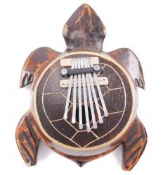 Karimba ha / Sanza / pianoforte pollice di Cocco a forma di Tartaruga