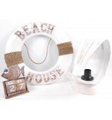 Déstockage ! Lot de 3 objets de décoration plage déclassés - Articles abîmés à saisir