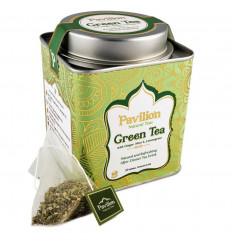 Thé vert bio indien gingembre menthe citronnelle, recette ayurvédique.
