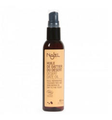 Oil desert date organic Najel. Recipe beauty anti-wrinkle DIY.