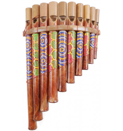 Pan flute bamboo (medium size) musical Instrument