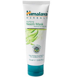 Mask purifying neem ayurvedic, anti-acne, normal to oily skin.