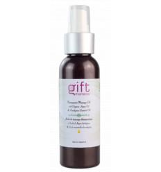 Huile de massage bio à l'huile d'Argan et eucalyptus - 100 ml