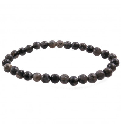 Bracelet Lithotherapie in Labradorite natural - Protection, meditation, calming.