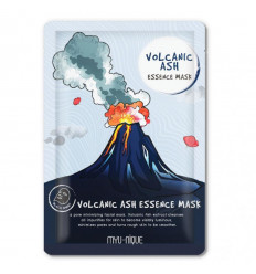 Mask facial scrub blackheads to the volcanic ash.
