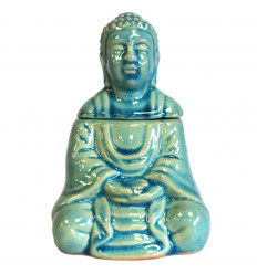 Burning / fragrance Diffuser shape Buddha black ceramic