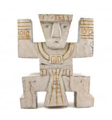 Totem INCA Koh Lanta scultura artigianale in legno