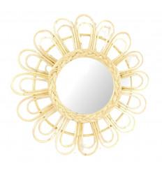 Grande specchio di forma rotonda Sole 60cm. Arredamento per la casa in tutto il mondo.