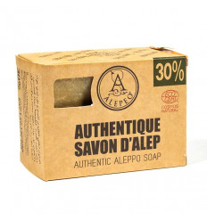 Authentic soap of Aleppo to the artisan. 30% oil of laurel Small price