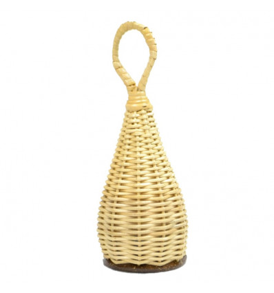 Maracas craft rattan - music Instrument and object deco