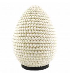 Lampada da comodino conchiglie H30cm | lampada esotica