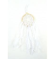 Attrape rêve bohème boho en dentelle, décoration mariage achat.