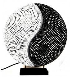"""Soggiorno lampada """"Yin Yang"""". Decorazione Zen."""