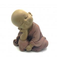 Figurine Bébé Bouddha, moine Bouddhiste enfant, Mini Statuette Zen