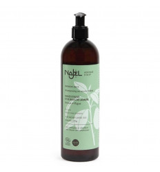 Shampoo sapone di Aleppo 500ml detergente e districante sui capelli asciutti.