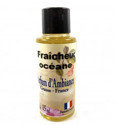 Environment perfume, Grasse, Fresh Ocean Spray, smell of the Sea.