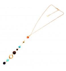 Bracelet Solar System in fine stones.