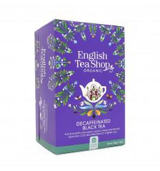 Tè nero decaffeinato biologico Negozio di tè inglese, certificato di commercio equo e solidale senza OGM