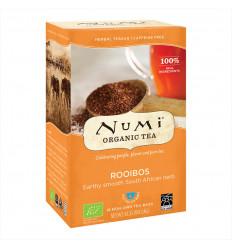 Rooibos biologico, tisana al tè rosso decaffeinato senza OGM fair - numi tea