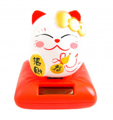 Maneki neko / Cat japanese golden lucky grand model H20cm