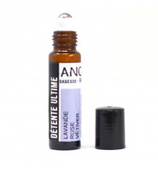 Relaxation Meditate Essential Oils Roll-On - Lavender Rose Vetiver