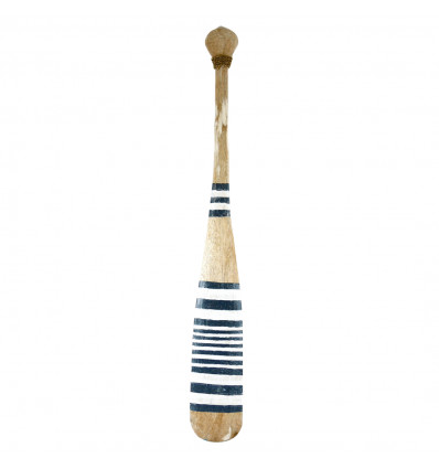 Decorative Paddle, Wall Oar 100cm Chic Seaside Decoration