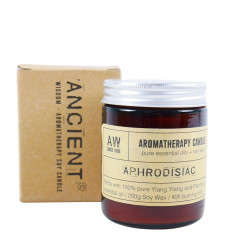 Ylang Ylang & Patchouli scent soy wax aromatherapy candle 200g / 40h
