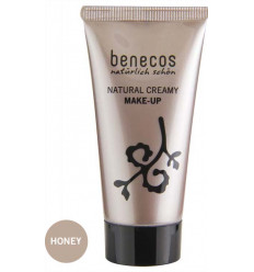 Organic Cream Foundation 30ml Honey Tint - Benecos