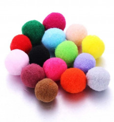 Set of 10 multicolored ball refills for ø1.50cm fragrance diffusers