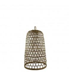 Suspension en Rotin et Bambou Modèle Ubud ø18cm - Création artisanale