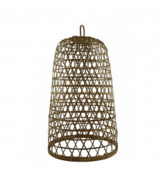 Suspension en Rotin et Bambou Modèle Ubud ø30cm - Création artisanale