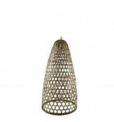 Suspension en Rotin et Bambou Modèle Jimbaran 48cm - Création artisanale