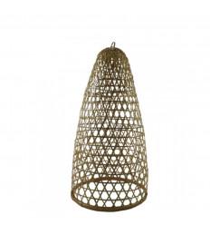Suspension en Rotin et Bambou Modèle Jimbaran 53cm - Création artisanale