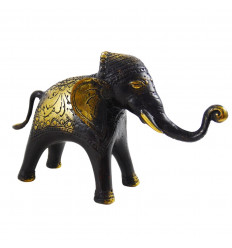 Solid bronze elephant 13 x 21cm - Handcrafted creation