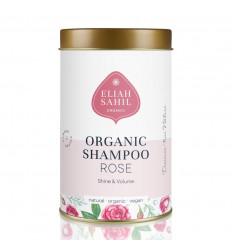 Rose Organic Powder Shampoo - Vegan Eliah Sahil, Zero Waste