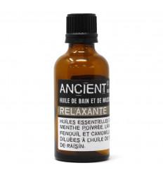 "Massage Oil / ""Relaxante"" Bath Oil - 100ml"