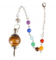 Pendulum séphoroton tiger Eye.
