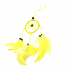 Buy dreamcatcher yellow cheap mirror or jewelry bag