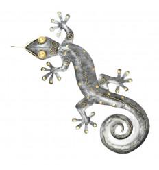Gecko Margouillat wall decoration wrought iron crafts 80cm