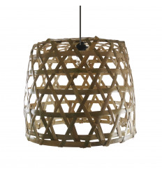 Rattan and bamboo suspension - Lovina Beach - Handcrafted