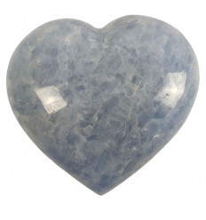 Heart in Blue Calcite, a Proof of Love that will stand up to Time.