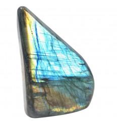 Labradorite de Madagascar- Freeform 133 x 96 x 48mm / 940g - Unique Piece