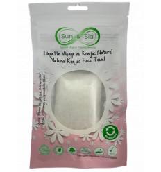 Reusable Face Wipe - Natural Konjac